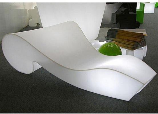 Rococo (light) chaise longue image 2