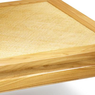 Square Daybed Table in Light Elm image 3