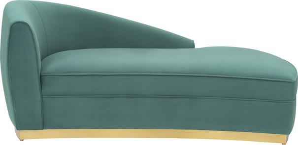 Tivoli Velvet Chaise Longue