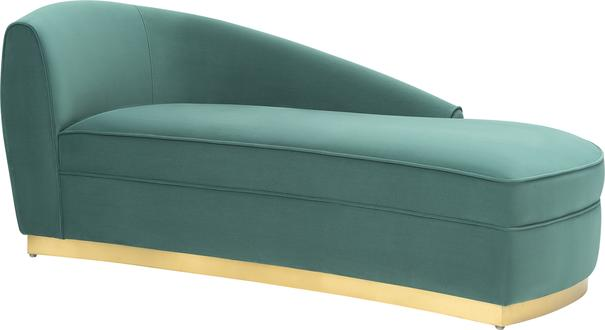 Tivoli Velvet Chaise Longue image 2