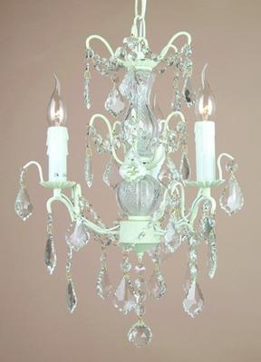 Small Silver French Chandelier 3 Tier image 10