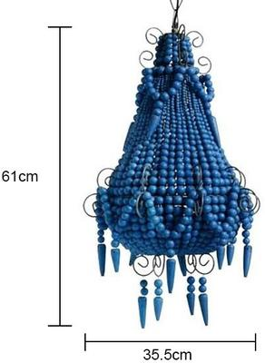 Beaded Chandelier image 2