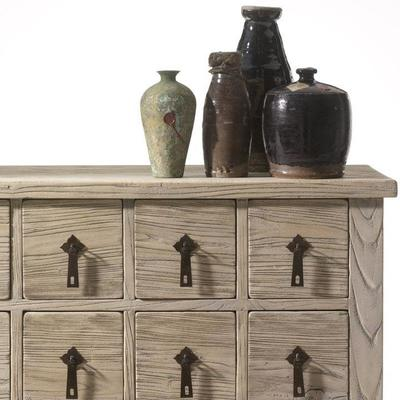 Herbalist Wooden Chinese Chest 14 Drawers image 3