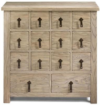 Herbalist Wooden Chinese Chest 14 Drawers image 4