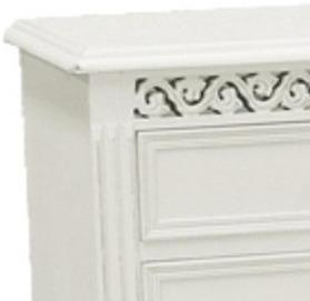 Traditional Two Over Three Chest of Drawers image 2