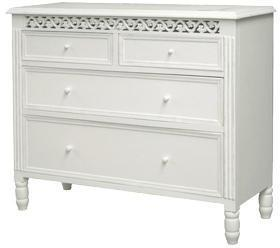 Traditional Two Over Two Chest of Drawers