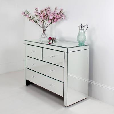 Mirrored Chest Of 4 Drawers image 4