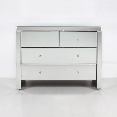 Mirrored Chest Of 4 Drawers image 7