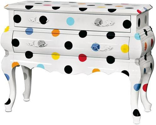 Seletti Two Drawer Chest Polka Dots