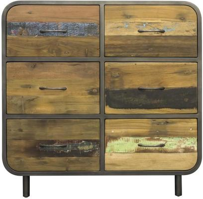 Brooklyn Finest Industrial 6 Drawer Chest image 2