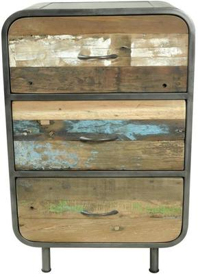 Brooklyn Finest Industrial 3 Drawer Tall Chest image 2