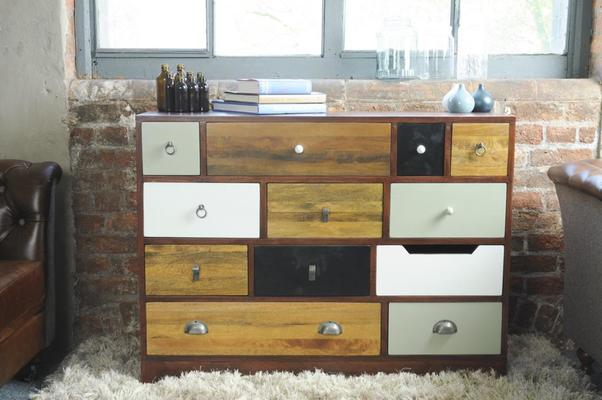 Abode Vintage Multi-Drawer Chest image 4