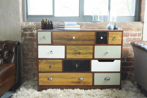Abode Vintage Multi-Drawer Chest image 5