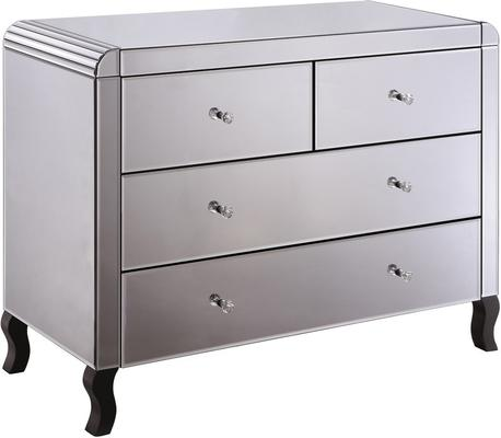 Smoked Mirror Chest Four Drawer Art Deco