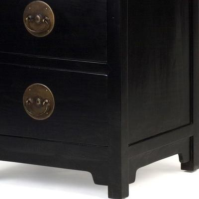 Ming Tall Boy, Black Lacquer image 3