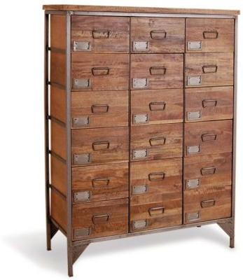 Industrial Vintage Apothecary Chest