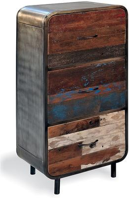 Mariner Reclaimed Three Drawer Chest of Drawers