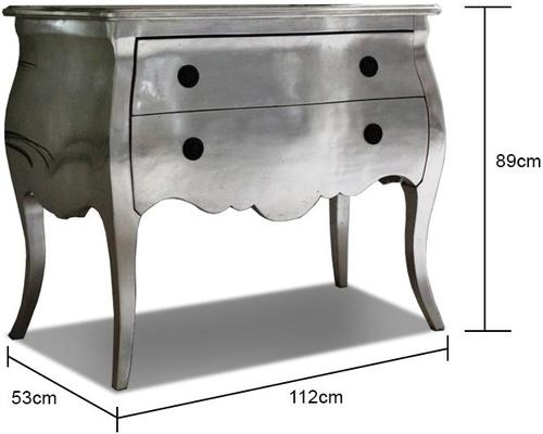 Satin Chest Of Drawers image 2