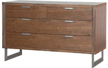 Retro Chest With Walnut Finish