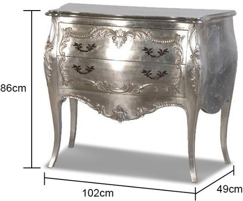 Carved French Chest image 2