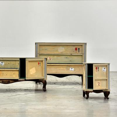 Seletti Packing Crate Wooden Chest image 3