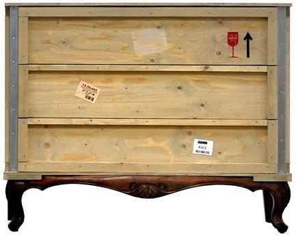 Seletti Packing Crate Wooden Chest image 5