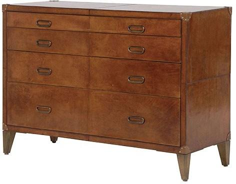 Leather Chest Of Drawers image 2