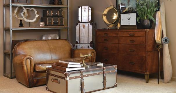 Leather Chest Of Drawers image 3