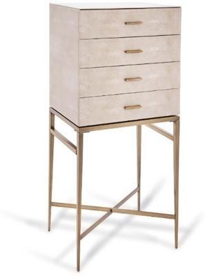 Shagreen Drawer Cabinet