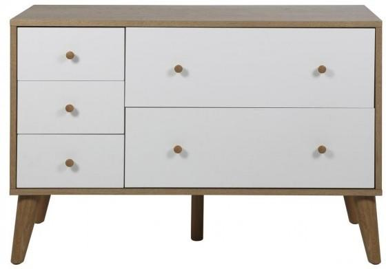 Oslo 5 drawer chest