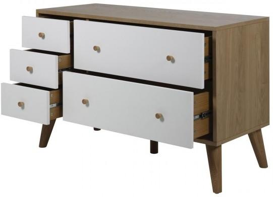 Oslo 5 drawer chest image 3