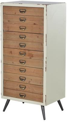 Distressed Six Drawer Tallboy Chest image 2