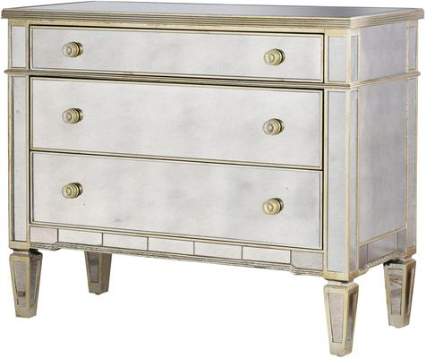 Large Three Drawer Venetian Chest
