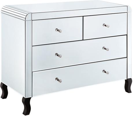 Bevel Edged Four Drawer Chest