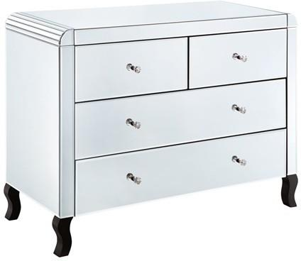 Bevel Edged Four Drawer Chest image 2