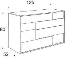 Nightfly 4 drawer dresser image 5