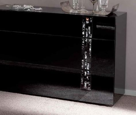 Murano 3 drawer dresser image 2