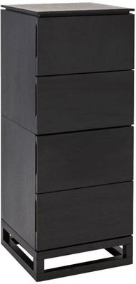 Cordoba Chest of 4 Drawers Black Wenge