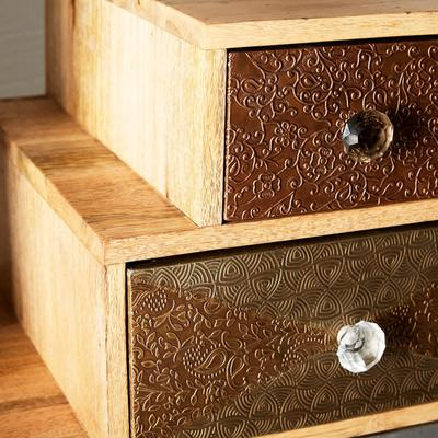 Sorio 5 Drawer Quirky Reclaimed Chest image 5