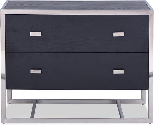 Holman Chest of Drawers Black Ash image 7