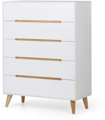 Visby 5 drawer chest