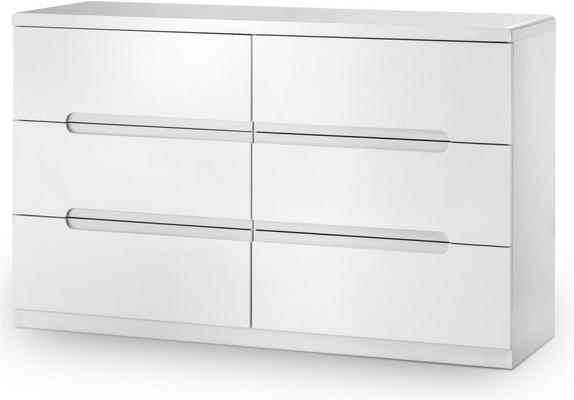 Brooklyn 6 drawer wide chest