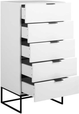 Kiba 5 drawer tall chest image 3