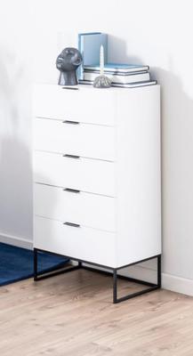 Kiba 5 drawer tall chest image 9