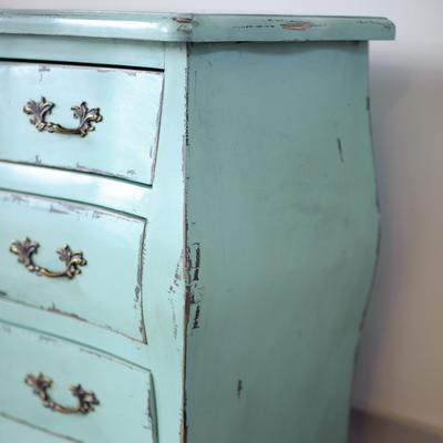 Etienne Aqua Blue 3 Drawer Chest of Drawers image 3