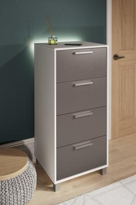 Frank Olsen SMART Tall Chest with mood lighting & phone charging  image 2