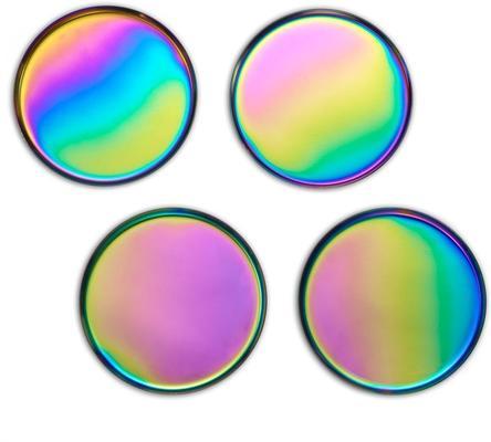 Glimmer Iridescent Coasters