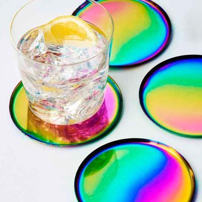 Glimmer Iridescent Coasters image 2