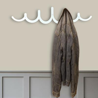 The Pulse Metal Coat Rack - Ivory