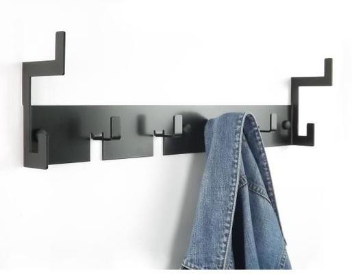 The Mayfair Metal Coat Rack - Black